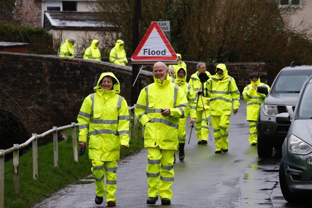Flood warden training helps Chew Magna prepare for future flooding