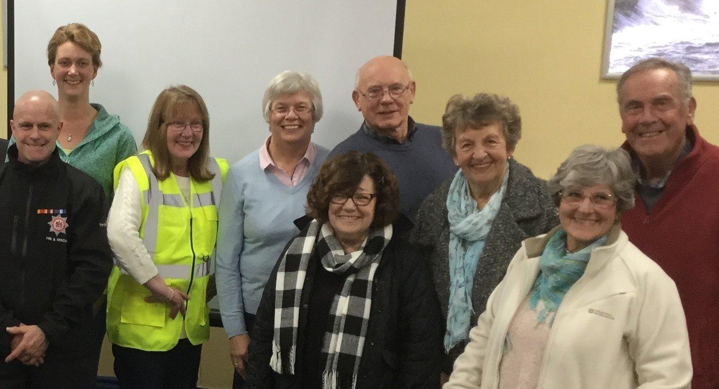 Brixham Community Emergency Response Team training event